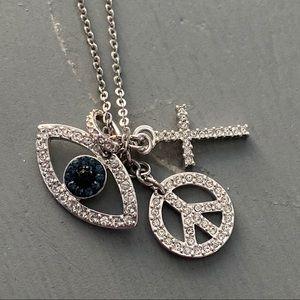 Swarovski Crystal Charm Necklace